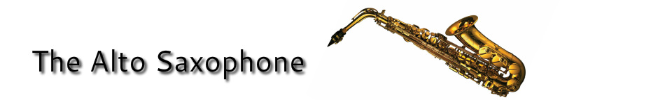 Alto Saxophone - Your Guide to Woodwind Intonation